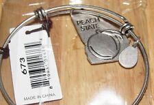 Bella Ryann Expandable Bracelet Georgia Peach State  *