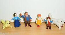 6 PVC Figures Belle and Sebastian Belle et Sébastien Maia Borges - Portugal 80's