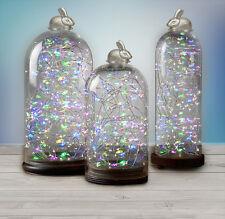 Spring / Summer LED Silver Wire Battery String Lights with Timer
