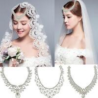 Rhinestone Head Chain Headpiece Hair Band Headwear Hair Jewelry Pendant Bride