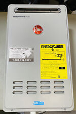 Rheem 9.5 GPM Natural Gas Outdoor Tankless Water Heater ECO200XLN3-1