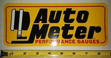 Authentic NASCAR Cup Series - Auto Meter Performance Guages- Decal/Sticker