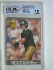 BRETT FAVRE - 1991 Fleer Ultra #283 Rookie Card GRADED 10 (Gem mint)