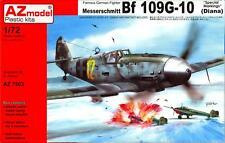 AZ Models 1/72 MESSERSCHMITT Bf-109G-10 DIANA with Special Markings