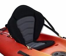 Adjustable Padded Deluxe Kayak Seat Detachable Back Backpack/Bag Canoe Backrest