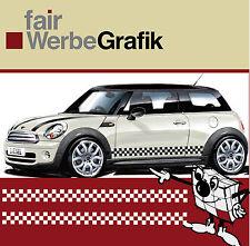 Aufkleber /  Sticker / Seitenbeschriftung / Dekor / Mini Cooper / #069