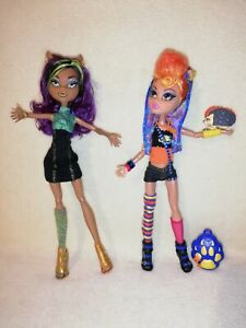 Monster High Clawdeen & Howleen Wolf - Werewolf Sister Pack. EXCELLENT GHOULS!