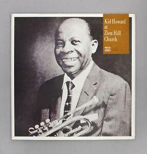 "Kid Howard At Zion Hill Church - Japanese 12"" Vinyl LP - VC-7005"