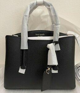 NWT Kate Spade Margaux Medium Leather Satchel Bag $298 PXRUA161 Original Packagi