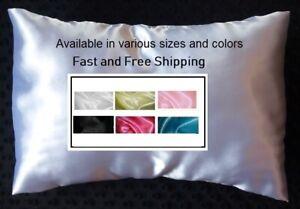 Satin Pillow Case Toddler or Travel Pillow Cover