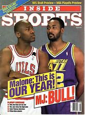 1992 (May) Inside Sports, Basketball magazine, Michael Jordan, Chicago Bulls~NL