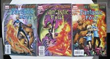SECRET INVASION FANTASTIC FOUR N° 1 A 3 RUN COMPLET VO NEUF NEAR MINT / MINT