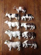 Britains Farmyard Set Animals Bulls Cows Cattle 1970s & 1980s