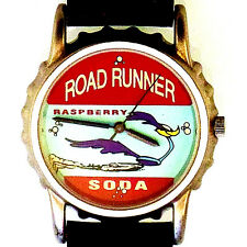 Road Runner, Soda Bottle Cap Watch Case, Fossil Warner Bros Collection, Rare $89