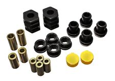 Energy Suspension Control Arm Bushing Set Black Front for Honda Civic # 16.3114G