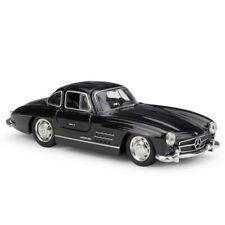 WELLY 1/36 Mercedes-Benz 300SL Car Model Alloy Diecast Boys Birthday Gift Black