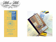 Midori Double Sided Stickers Refill Midori 010 Traveler's Notebook Regular Size