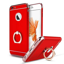 For iPhone 5 6 8 7 Plus Ring Case Luxury Ultra Thin Hybrid Protective Hard Cover