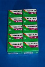Fujifilm Fujicolor C200,35mm,Color negative film, 10X36exp,NEW,exp/date 08/2022