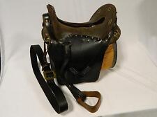 Saddle Civil War Era McClellan 1869 Military Saddle Blk Leather Skirts