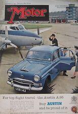 Motor magazine 10/12/1958 featuring BMW 600 road test
