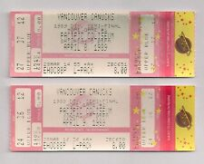 1989 Calgary Flames Stanley Cup Champions @ Canucks Round 1 Games 3 & 4 Tickets