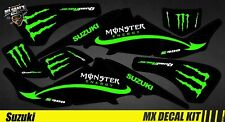 Kit Déco Quad / Atv Decal Kit Suzuki LTZ 400 - Green Monster
