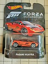 Hot Wheels Retro Entertainment Series Forza Motorsport Pagani Huayra Orange 5/5