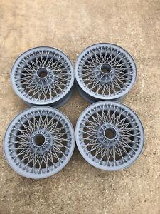 original morgan +4 wire wheels 15in