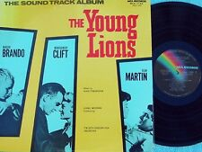 Hugo Friedhofer JAP Reissue OST LP The Young Lions NM MONO Drama War