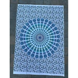 Mandala 100% Cotton Poster Size Wall Hanging Tapestry 45 x 29  Home Decor Art