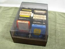 8 TRACK TAPES with CASE ELVIS ROGERS STATLER CAMPBELL HAGGARD NELSON CASH 15