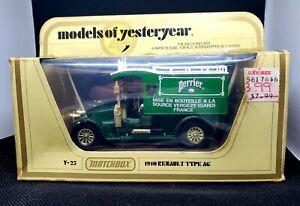 Matchbox Models of Yesteryear 1910 Renault Type AG Perrier Y-25 Delivery Van