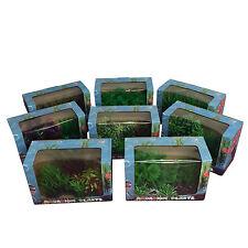 Aquarium Fish Tank Plastic Plant Display Ornament - Choose from 8 styles