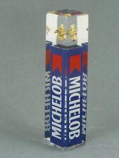 Scarce 1980s MICHELOB BEER 4¼ inch Blue Lucite Shotgun Tap Tavern Trove