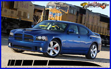 DODGE CHARGER REAR QTR STROBE SPEAR DECAL FACTORY STRIPE 2006 2010