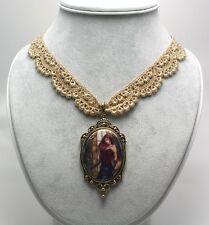 Beautiful Vanities Necklace Renaissance Rose Fairy Pendant Jessica Galbreth