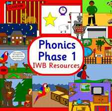 PHASE 1- Letters and Sounds resource-IWB Powerpoints-Interactive EYFS BULK PACK