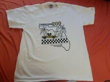 Walt Disney World mens L t-shirt Indy 200 Inaugural Race Vtg Usa Mickey Mouse