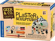 Plaster Sculptures Craft Kit Geek & Co. Thames & Kosmos Mold & Paint Kids