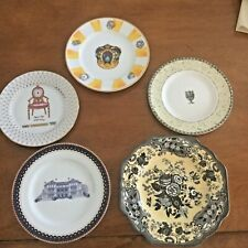 5 Collector Porcelain Plates- See Pictures - Sold in Eaches