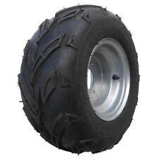 Komplettrad Felge mit Reifen 3-Loch 16x8-7 silber links Quad ATV Kinderquad