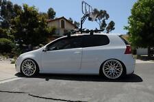 SILVER 19X8.5 +45 ROTIFORM BLQ 5X112 WHEEL FIT VW JETTA GOLF GTI MKV AUDI A3 A6