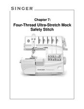 Singer 14T968DC-WKBK2 Sewing Machine/Embroidery/Serger Owners Manual