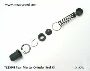 Yamaha TZ250 Rear Master Cylinder Seal Kit, 4A0-W0042-50-00, TZ250H Seal Kit TZ
