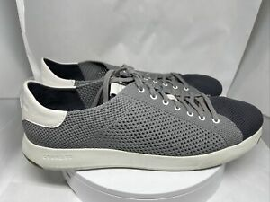 Cole Haan Mens Grandpro Tennis Stitchlite Gray Athletic Shoes 11M C26625