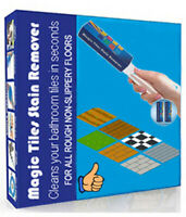 Magic Tiles Stain Remover-Cleaning stains from your tiles without chemicals!
