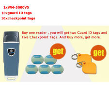 RFID guard tour system tour patrol system IP67 WM-5000V5 with checkpoint tags