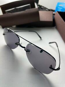 Matsuda M3038 Aviator Sunglasses Gray Lens 56-20-145 / WIDE