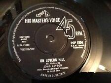 JOHN LEYTON . ON LOVERS HILL .1963 . R.G.M. JOE MEEK PRODUCTION . RARE .